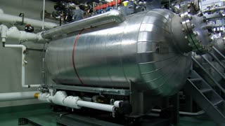 Complex Machine Boiler Room
