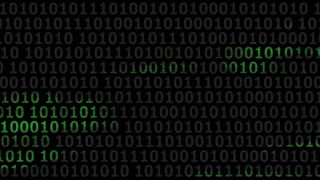 Computer Binary Code Highlights