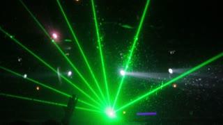 Luci laser concerto