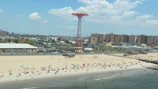 Coney Island beach living 2