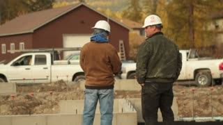 Construction Workers Talk