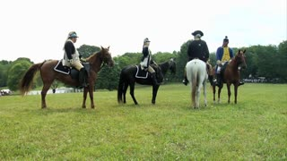 Continental Army Horseback