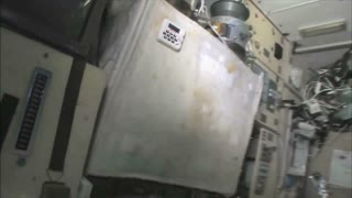 Control Panel Wall on ISS