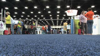 Convention Center Floor Angle 2 Time Ramp Floor POV
