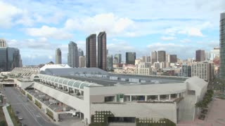 Convention Center San Diego City Skyline Daytime