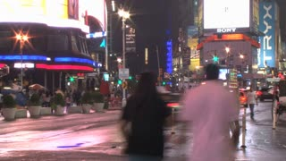 Corner of New York City Intersection Timelapse 3