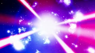 Cosmic Laser Beams