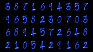 Counting Light Numbers