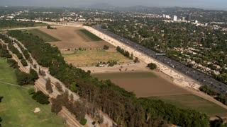 Country Freeway Aerial