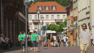 Couples Walking Holding Hands in Heidelberg