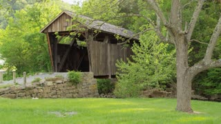 Covered Bridge In West Virginia