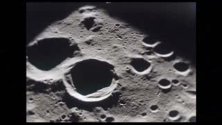 Craters on the Earths Moon