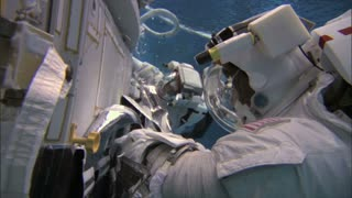 Crew Underwater Trains To Make Repairs In Space