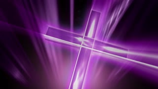 Cross Emit Light Purple