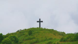Cross On Countryside