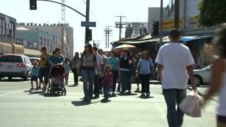 Crosswalk LA Timelapse
