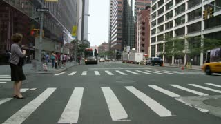 Crosswalk NYC Timelapse