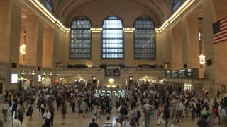 Crowd of People at Grand Central Station 2