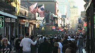 Crowded Bourbon Street 2