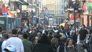 Crowded Bourbon Street 3