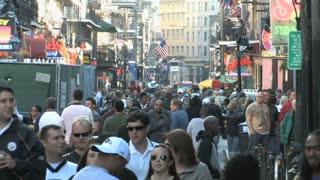Crowded Bourbon Street 4