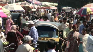 Crowded City of Pune India