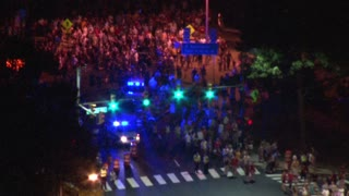 Crowds Leaving DC Fireworks Show