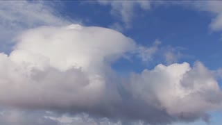 Cumulus Clouds In Sky