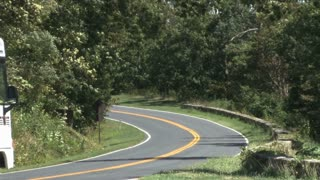 Curvy Road Through Appalachian Mountains 2