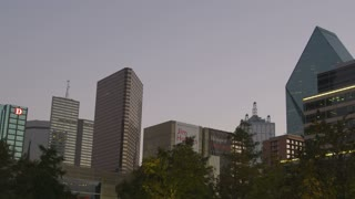 Dallas High Rises at Dusk