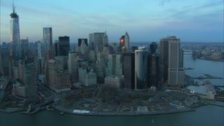 Daytime Manhattan Aerial