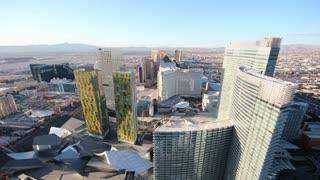 Daytime Vegas Skyline Timelapse