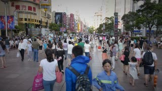 Daytime Walking in Shanghai