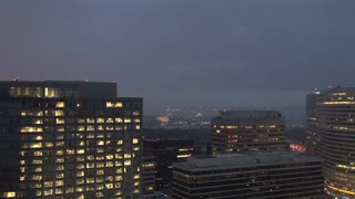DC Buildings Against Rainy Twilight 3