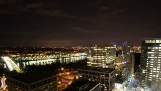 DC City Bright Night Time Lapse 1