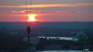 DC Memorial Sunrise