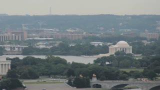 DC Memorials Cloudy Day Timelapse Pan