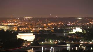 DC Memorials Sunrise Timelapse