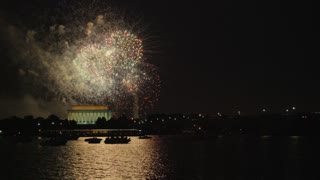 DC Monuments Fireworks Show