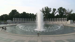 DC WW2 Water Fountain Timelapse
