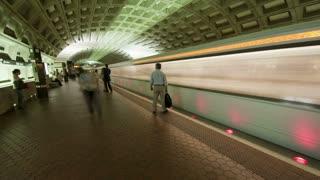 Departing Metro Timelapse