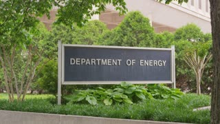 Department of Energy outdoor sign