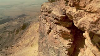 Depth and Scope of Mitzpe Ramon Crater