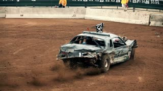 Derby Car Slingshot Hit
