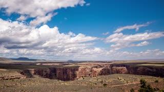 Desert Canyon Time Lapse