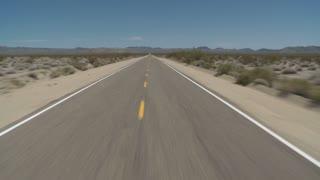Desert Road Driving Timelapse