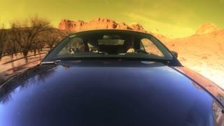 Desert Roadway POV Timelapse