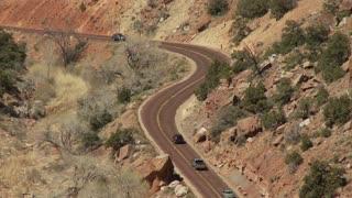 Desert Roadway Timelapse