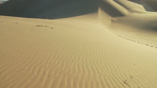 Desert Sand Cloud Shadow Timelapse