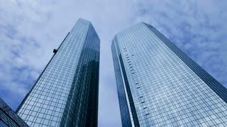 Deutsche Bank Building , Frankfurt, Hessen, Germany